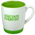 Promotional office mugs