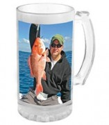 Clear/Frosted Shot Glass Sublimated