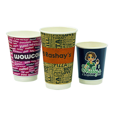 Printed Personalised Coffee Paper Cup